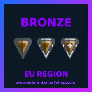 EU Region Bronze Valorant Account
