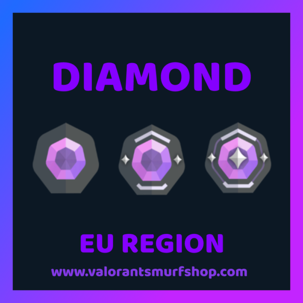 EU Region Diamond Valorant Account