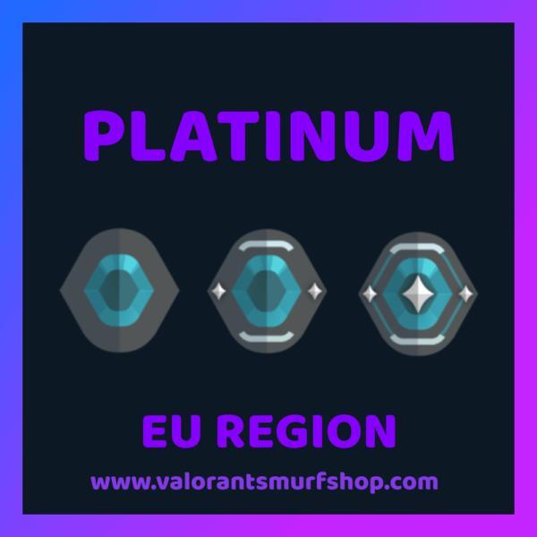 EU Region Platinum Valorant Account