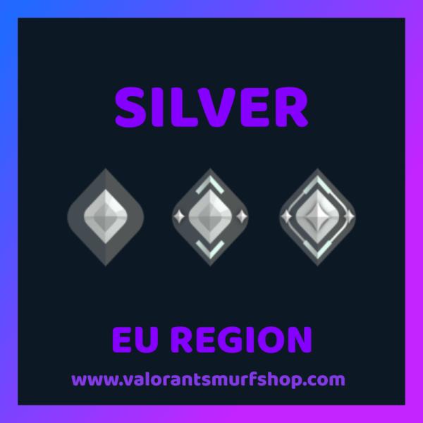 EU Region Silver Valorant Account
