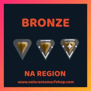 NA Region Bronze Valorant Account