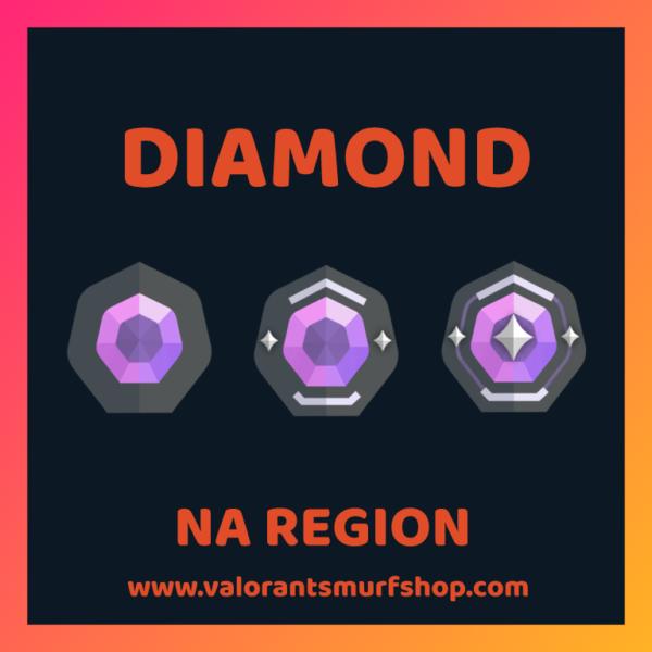 NA Region Diamond Valorant Account