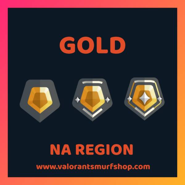 NA Region Gold Valorant Account
