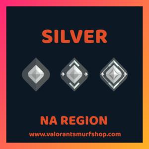 NA Region Silver Valorant Account