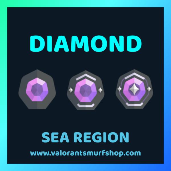 SEA Region Diamond Ranked Valorant Account