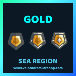 SEA Region Gold Ranked Valorant Account