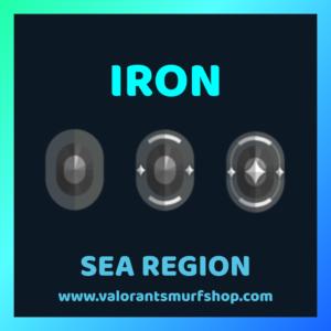 SEA Region IRON Ranked Valorant Account