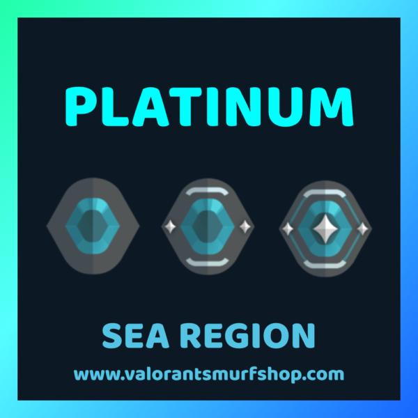 SEA Region Platinum Ranked Valorant Account