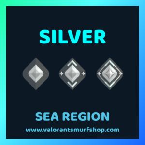 SEA Region Silver Ranked Valorant Account